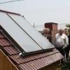 供应别墅、工程平板太阳能热水器200L(蓝膜)