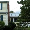供应别墅、工程平板太阳能热水器300L(蓝膜)