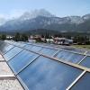 供应别墅、工程平板太阳能热水器400L(黑铬)