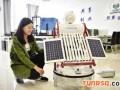 唐山大学生发明可随太阳旋转的热水器