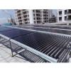酒店宾馆工厂学校热水工程大型太阳能热水系统工程联箱真空管集热